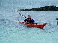 Sea kayaking Outer Hebrides