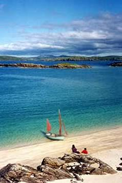 Sailing in the Hebrides