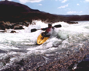 Surfing Loch Seaforth